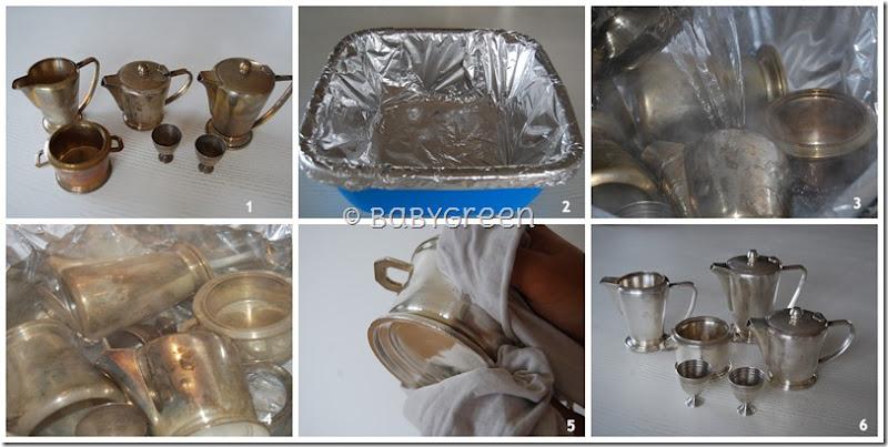 Come pulire l argento velocemente e senza strofinare babygreen - Come pulire argento in casa ...