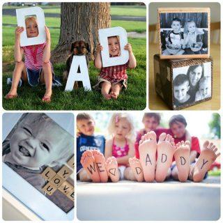 Festa del papà: 5 foto-idee semplici ed economiche