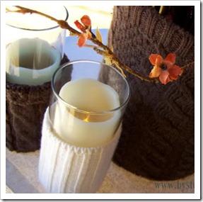 Come trasformare vecchi maglioni in bellissimi vasi!
