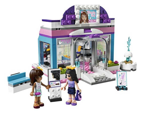 Lego friends 5 amiche dei nostri giorni babygreen for Olivia s garden pool instructions