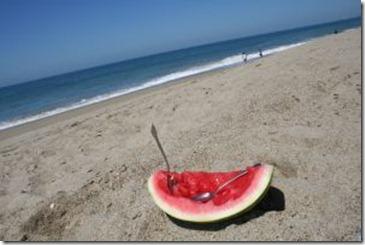 542849_watermelon_at_the_beach_1