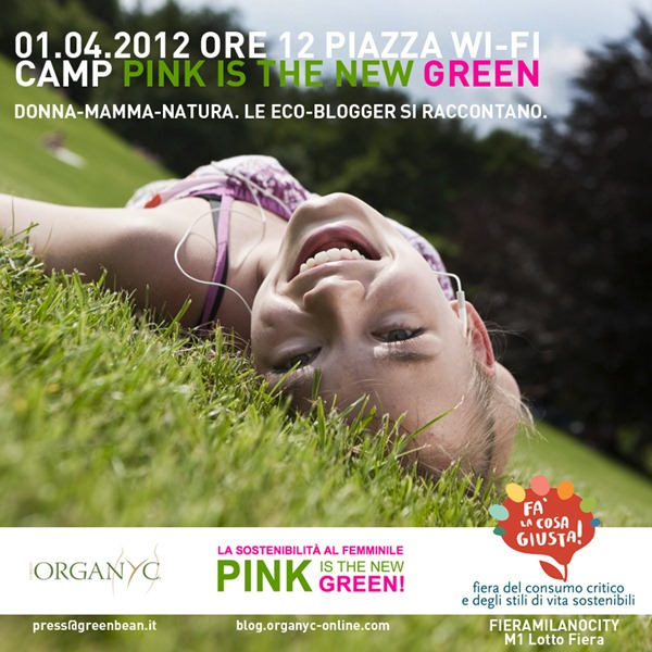 INVITO Camp Pink is the new Green
