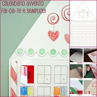 Calendario Avvento Fai Da Te Bambini.Come Fare Il Calendario Dell Avvento Semplicemente E A Costo