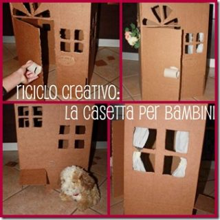 Come costruire una casetta per bambini a costo zero