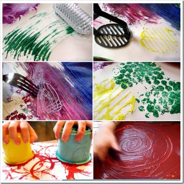 50 idee per dipingere senza pennello - Babygreen