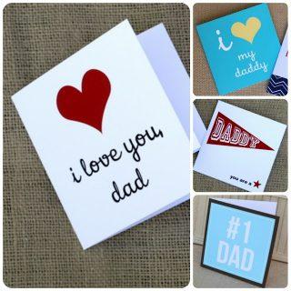 Festa del papà: cartoncini pdf