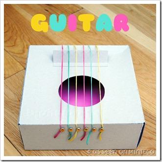 Come realizzare una chitarra per i bimbi a costo zero for Costo per costruire una casa in piccola roccia