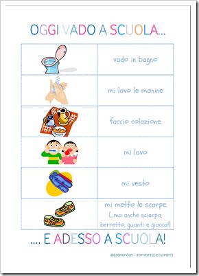 6 cose da fare prima di andare a scuola pdf babygreen - Cose per la casa on line ...
