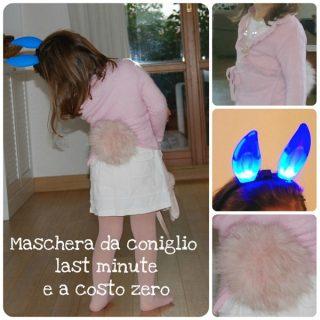 Maschera da coniglio a costo zero e in 1 minuto