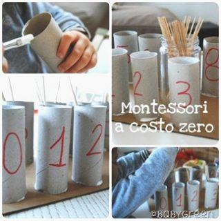 Attività Montessori a costo zero