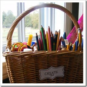Come organizzare un porta matite per bambini a costo zero