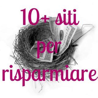 10 + siti per risparmiare