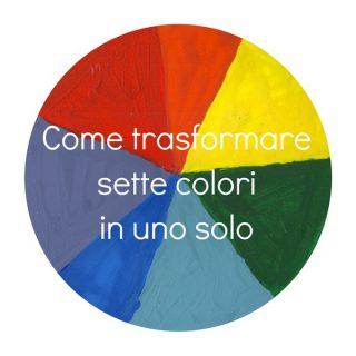 Come trasformare sette colori in uno solo