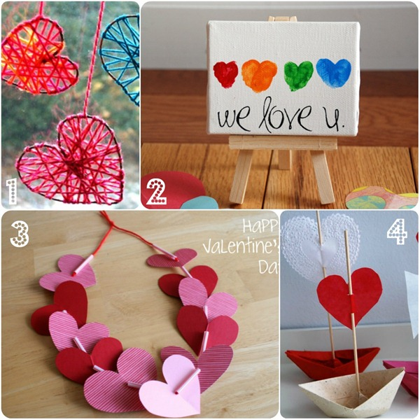 San valentino con i bambini babygreen - Decorazioni san valentino ...