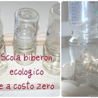 Scola biberon ecologico e a costo zero