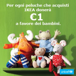 Soft toys per ogni peluche ikea 1 euro a unicef babygreen - Peluches a 1 euro ...