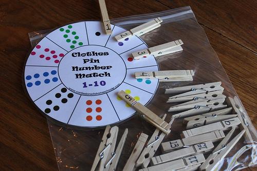 come imparare i numeri giocando - babygreen