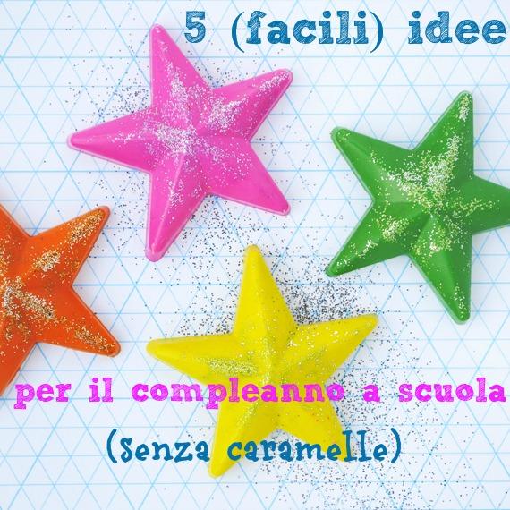 Favoloso 5 idee per festeggiare il compleanno a scuola (senza caramelle  GT35