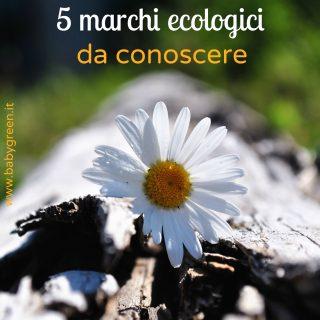 I 5 marchi ecologici da conoscere
