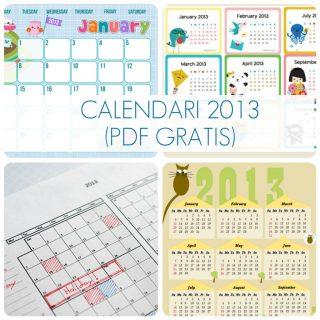 PDF gratis: calendari 2013
