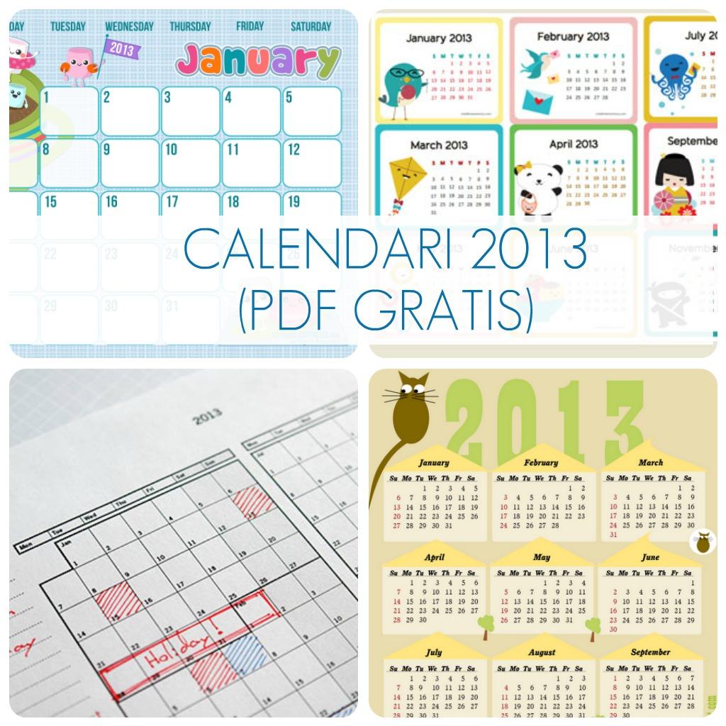 Andata Alla Ricerca Di Calendari In Pdf Da Scaricare Gratuitamente