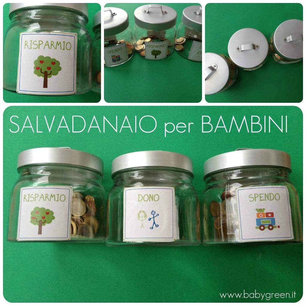 Salvadanaio Per Bambini Babygreen