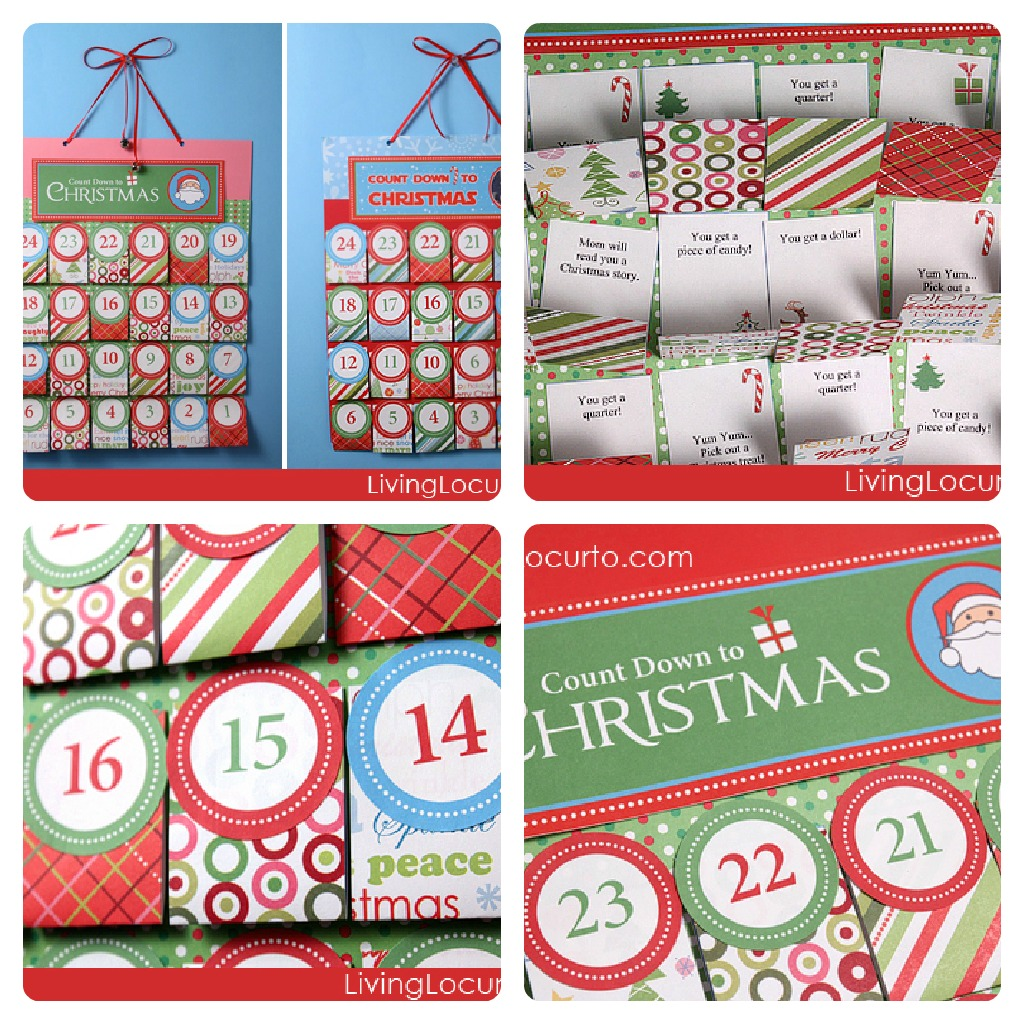 Calendario Dellavvento Da Stampare Per Bambini.Calendario Dell Avvento Da Stampare Gratis Babygreen