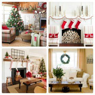 29 ispirazioni per il soggiorno a Natale