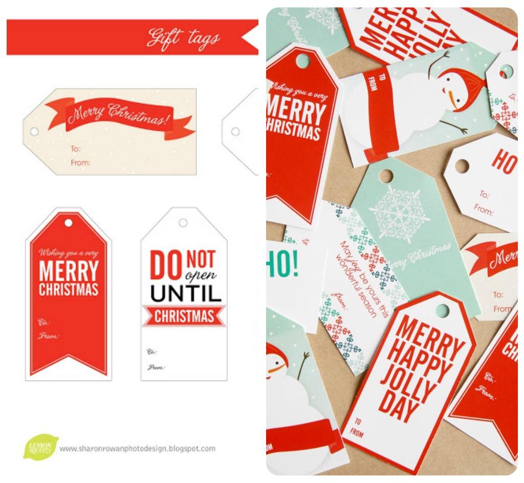 Etichette Per Regali Di Natale Da Stampare.Biglietti Ed Etichette Di Natale A Costo Zero Babygreen