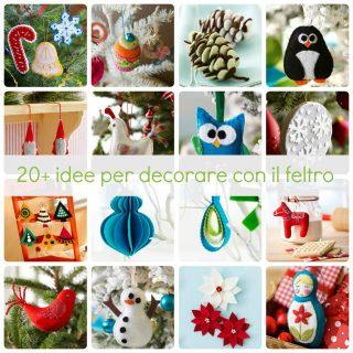 20+ idee per decorare con il feltro
