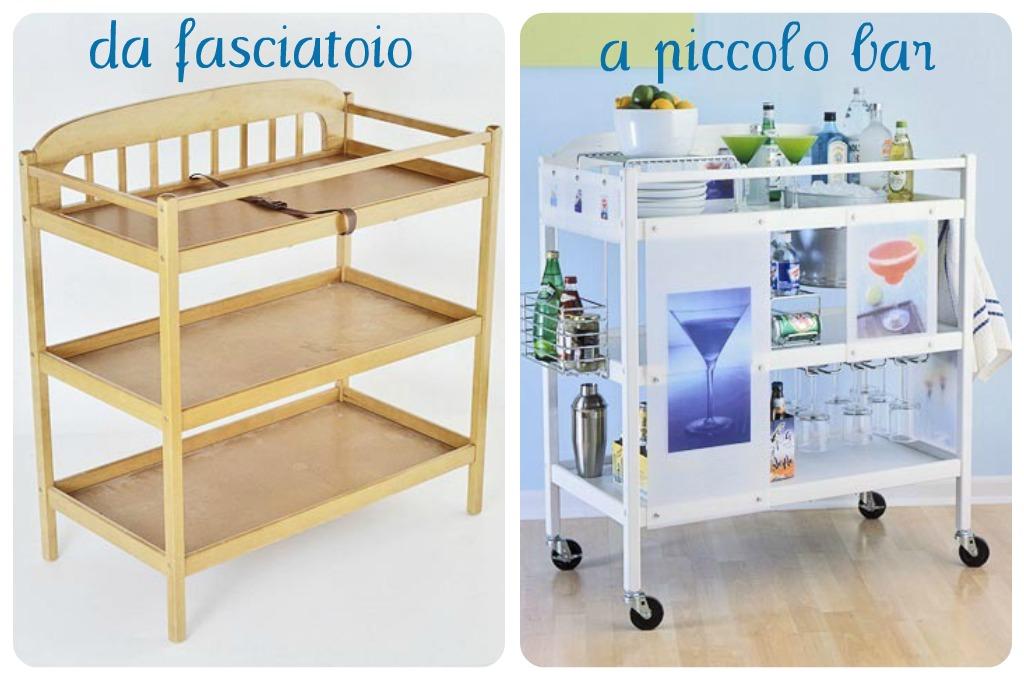 Riciclo fasciatoio babygreen for Fasciatoio fai da te