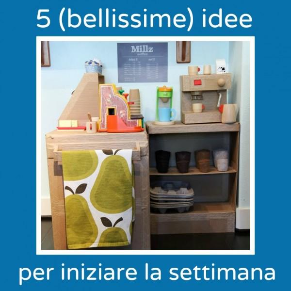 5 bellissime idee per iniziare la settimana babygreen - Riciclare scatole ...