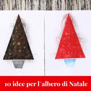 10 idee per l'albero di Natale