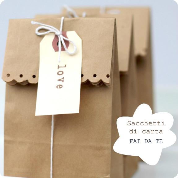 Sacchetti di carta fai da te babygreen for Costruire la mia piccola casa online