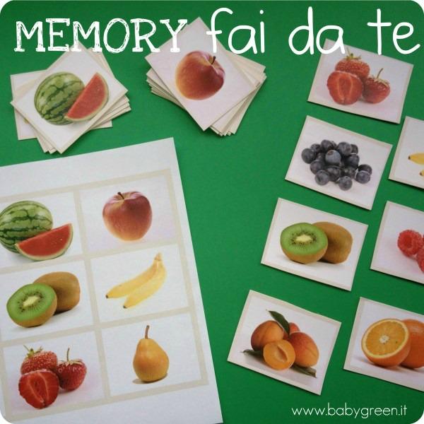 carte memory da stampare pdf gratis babygreen