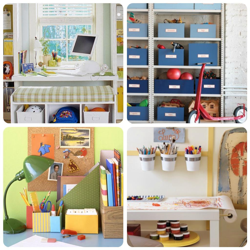 10 idee per organizzare gli spazi dei bambini - BabyGreen