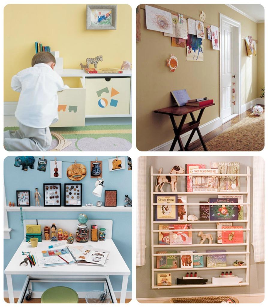 10 idee per organizzare gli spazi dei bambini babygreen for Arredare casa riciclando