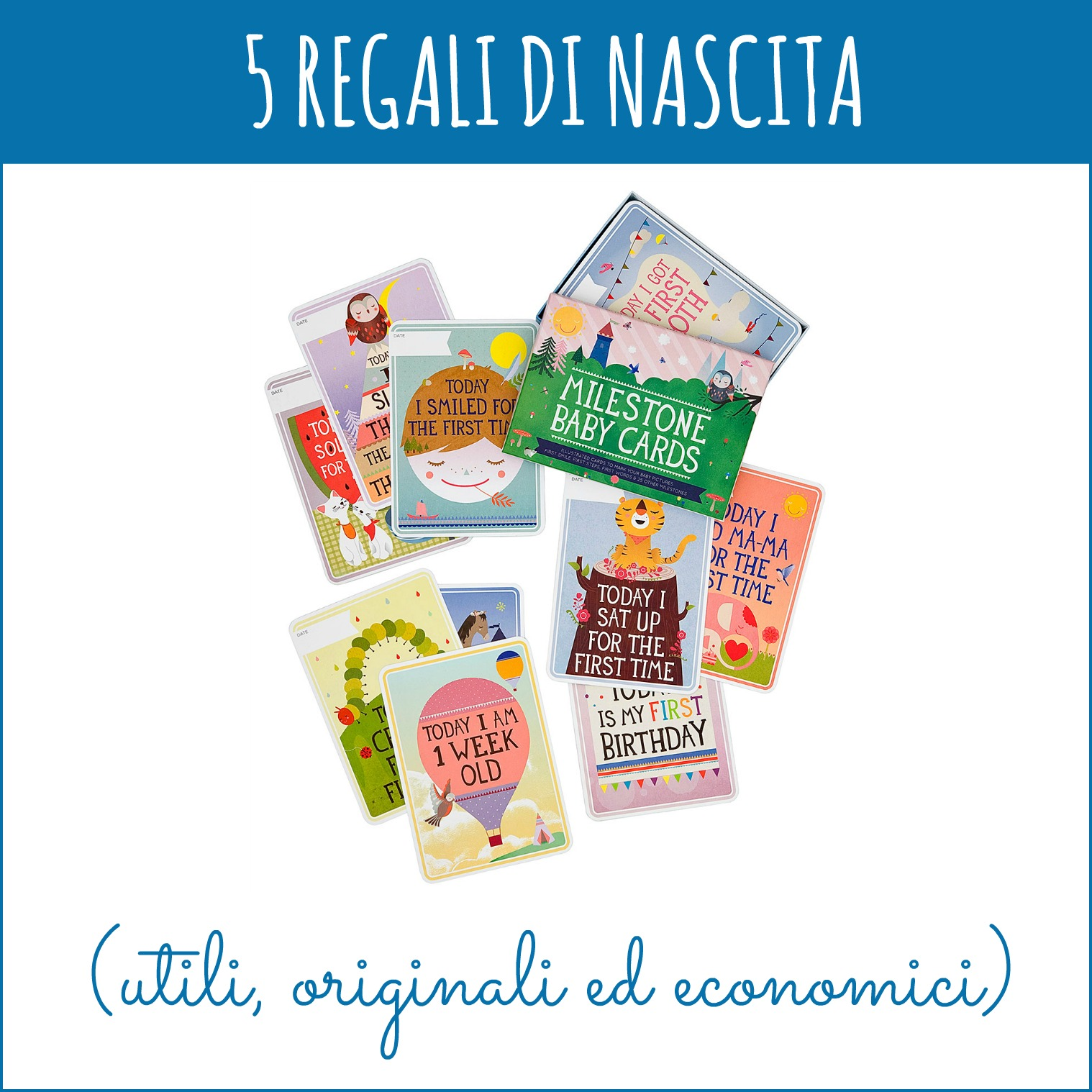 5 regali di nascita utili originali ed economici for Regali per la casa originali