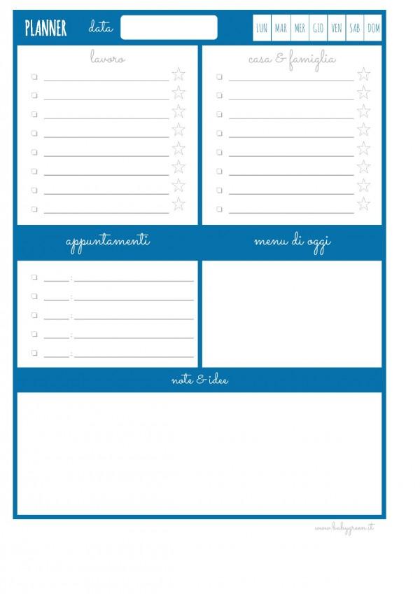 planner per conciliare lavoro e famiglia pdf babygreen