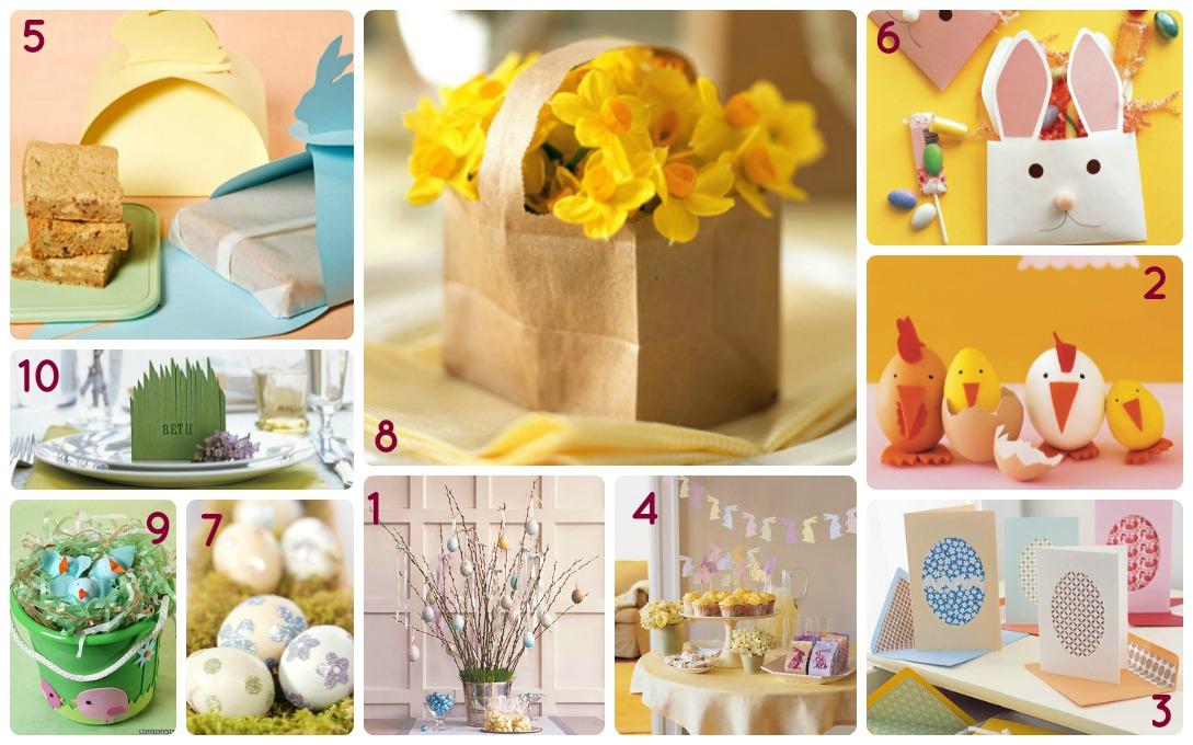 Favorito 10 lavoretti (semplici) per Pasqua - BabyGreen QO71