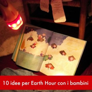 10 idee per Earth Hour con i bambini