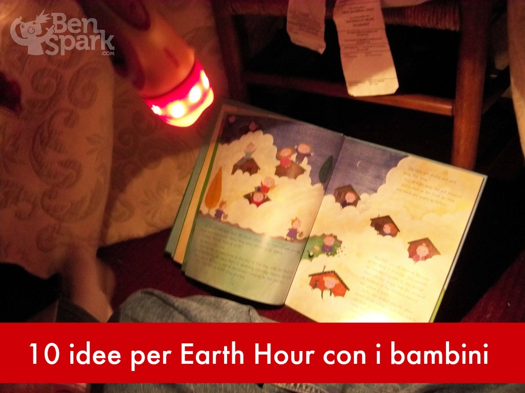 Earth Hour con i bambini