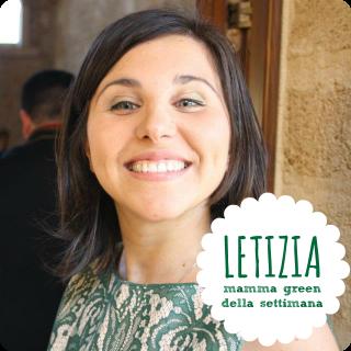 Letizia: mamma green della settimana