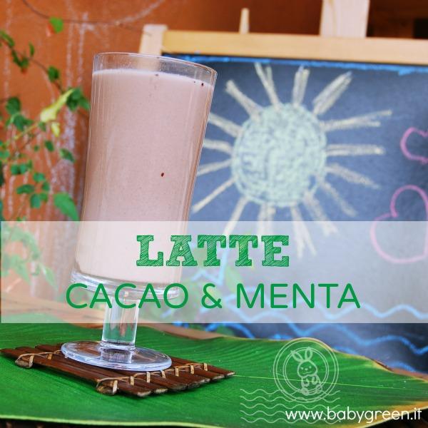 Latte Cacao & Menta