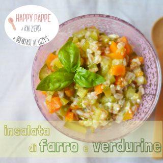 Ricette svezzamento: insalata di farro e verdurine