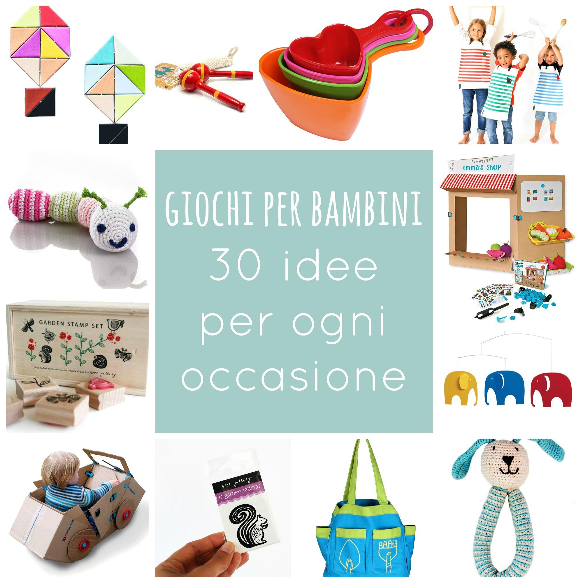 Giochi Per Bambini 30 Idee Per Ogni Occasione Babygreen
