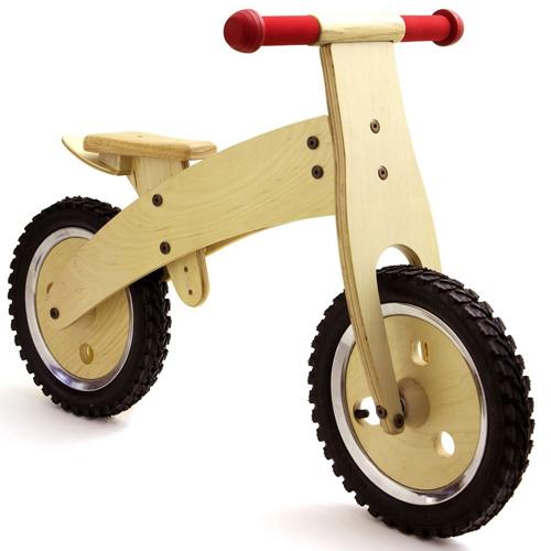 Bici senza pedali legno