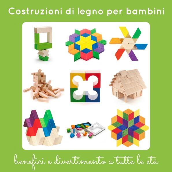 costruzioni di legno per bambini