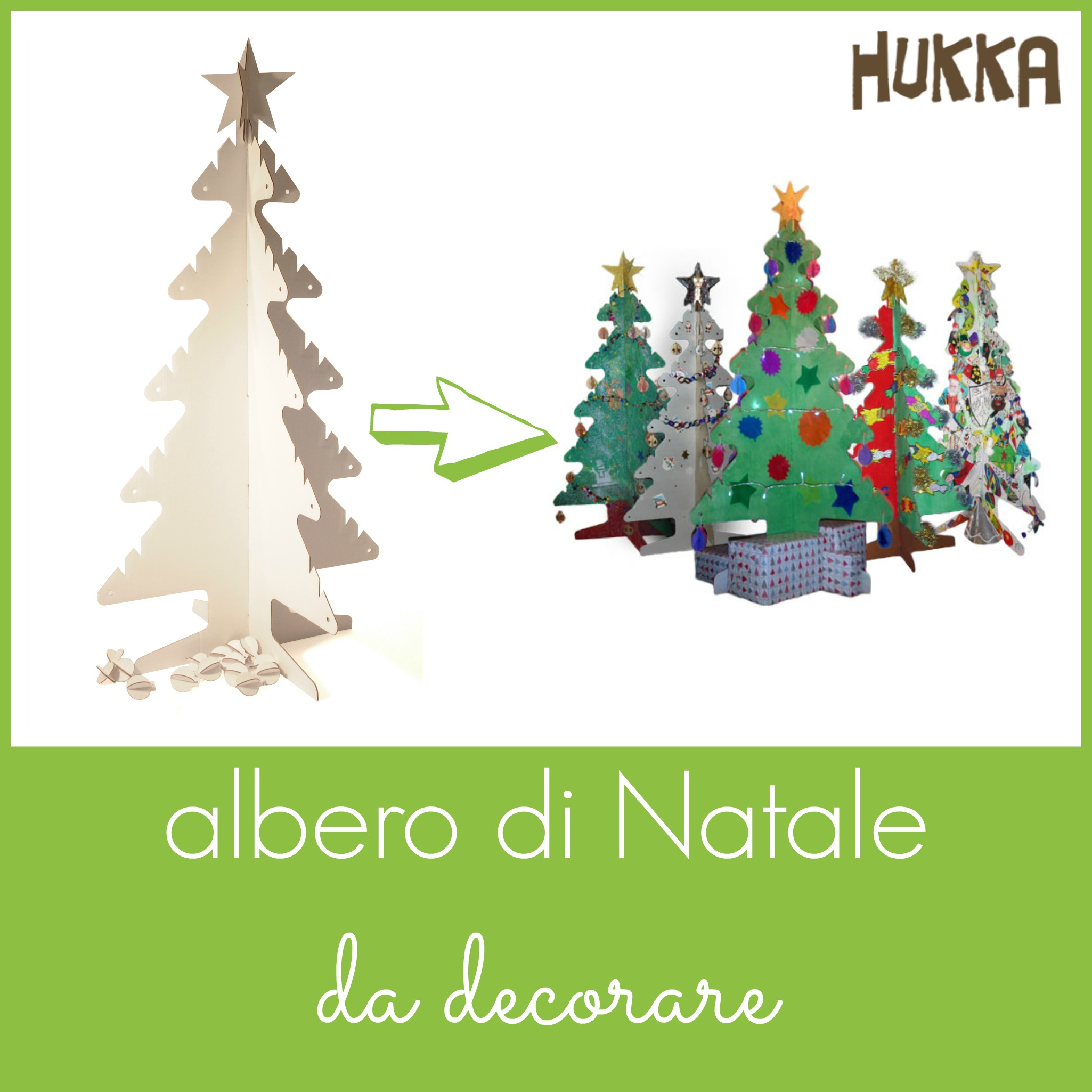 Albero Di Natale Per Bambini Piccoli.Albero Di Natale Da Decorare Babygreen