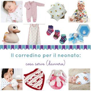 Il corredino per il neonato: cosa serve (davvero)